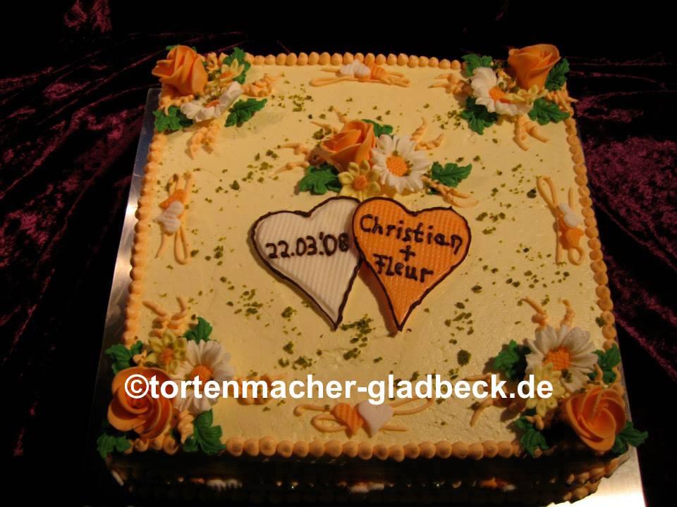 Der Tortenmacher Gladbeck Torten Und Kuchen Zur Hochzeit Zum